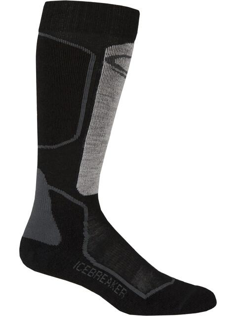 Icebreaker Ski+ Light OTC Socks Women oil/black/silver
